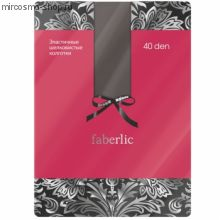 Эластичные шелковистые колготки, цвет дымчатый, 40 den